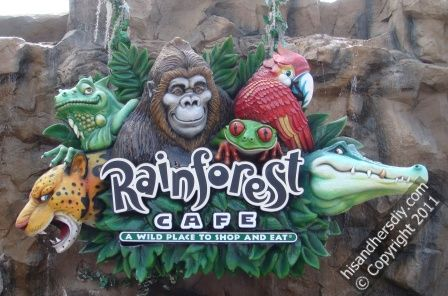Disney-Dinning-Plan-Rainforest-Cafe-Downtown-Disney