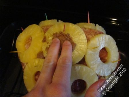 pack-the-brown-sugar-in-pineapple