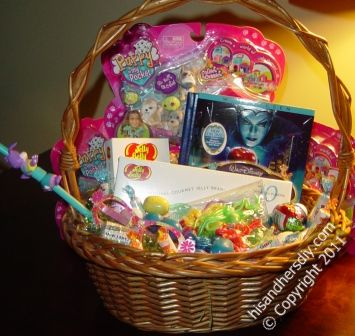 Children are typically the recipients of the Easter baskets, but adults can ...