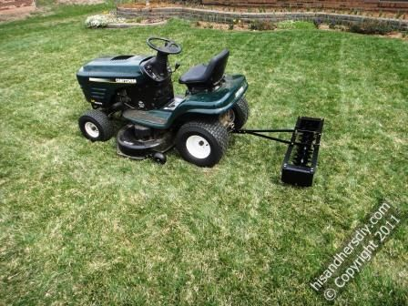 aerator-with-riding-lawn-mower