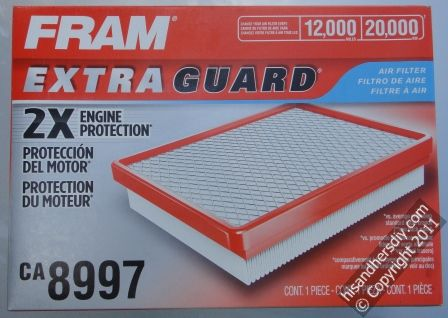 Fram-Extra-Guard-Air-Filter
