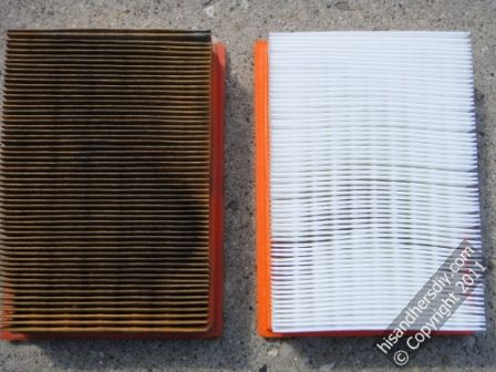 used-and-new-air-filters