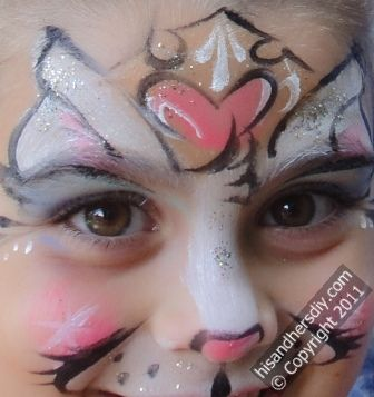 Princess-Kitty-Face-painting