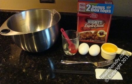items-to-make-brownies