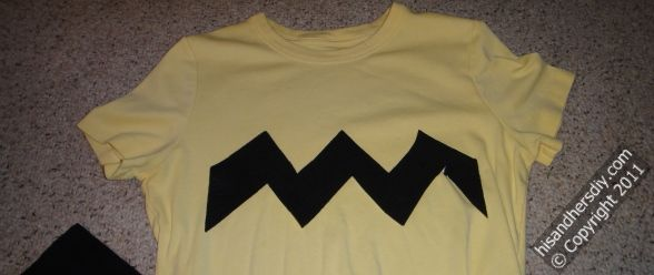 making-a-charlie-brown-costume